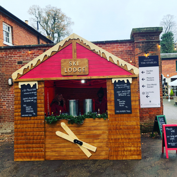 Ski Lodge Christmas Market